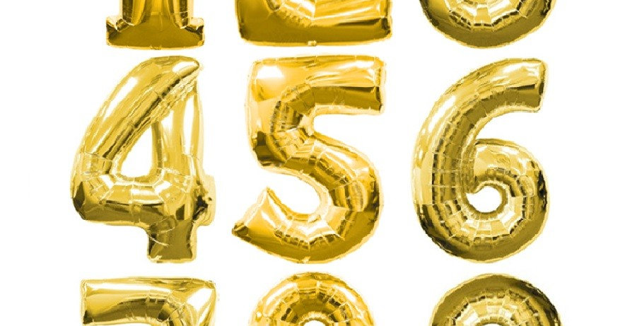 Цифра Gold 102 см