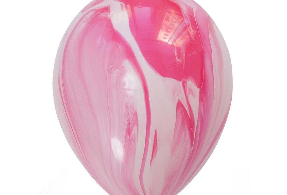 Шар Мраморный Розовый