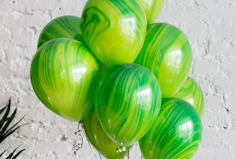 Шар Агат зелёный