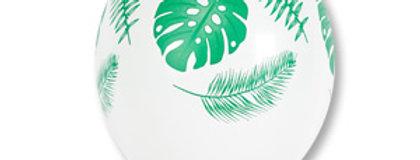 Шелкография Листья Тропические