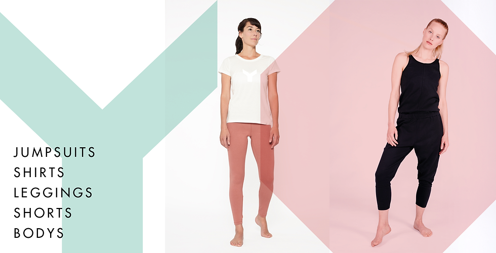 Yoga Kleidung, Yoga Jumpsuit,Yoga leggins, Yoga leggings, oragnic cotton, Bio-Baumwolle, Yoiqi