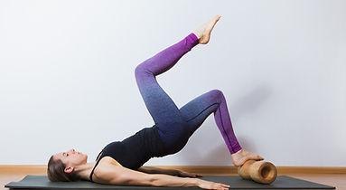 Training Beinmuskulatur mit rollholz