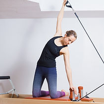 Pilatest Reformer BASI Iris Jacobs