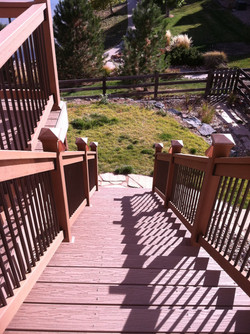 Connely Deck Stairs
