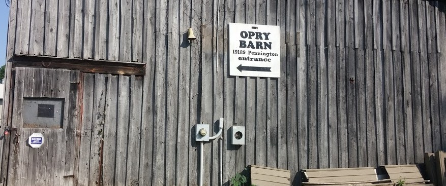 Opry Barn Sign