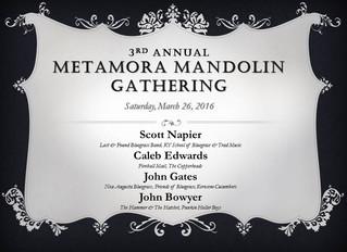 Mandolin Gathering 2016