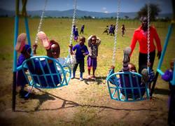 Playground swings Kiotani May 2015