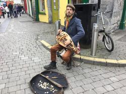 Busking in Ireland