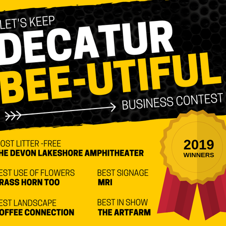 2019 Let's Keep Decatur Bee-utiful Winners Announced
