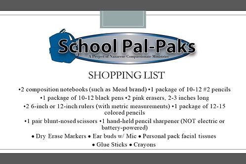 School Pal-Paks
