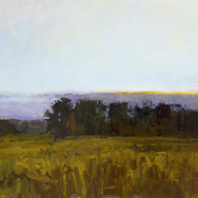 Dusk, Pond Meadow, Gilsland Farm