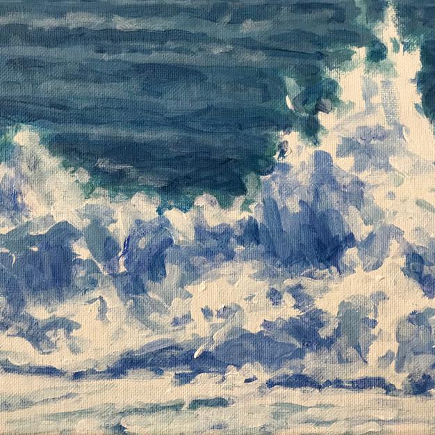 Surf/ Blue Series #10