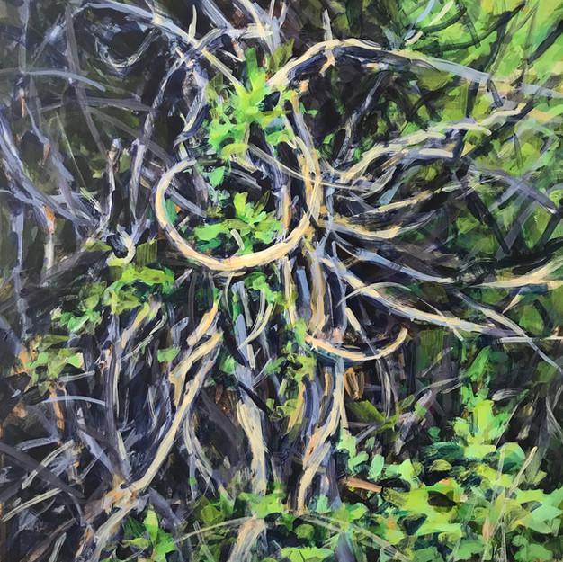 Spring Vine Grid 6