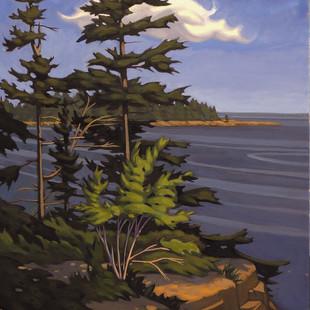 Nathaniel Meyer Schoodic Harbor