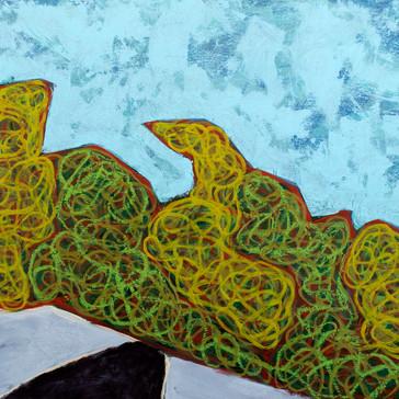 Isalnd Geometry, Monhegan: Rockweed No.10