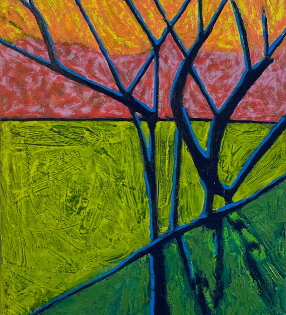 Blue Trees No. 8