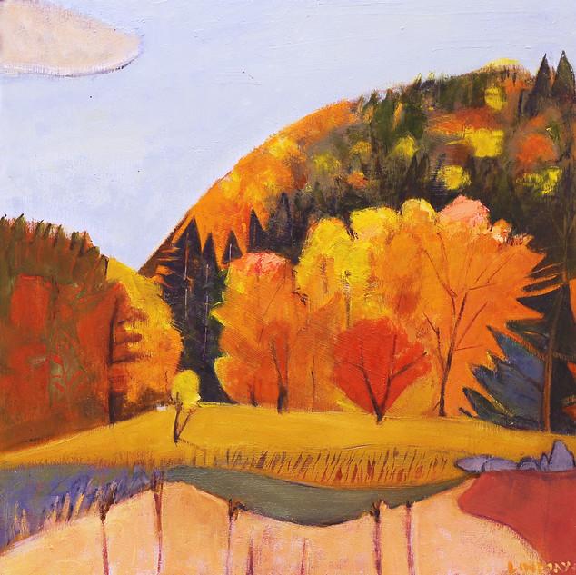 Philo Ridge, Rocks Fall