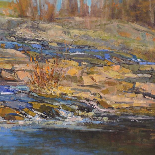 Rocks, Upper Falls, Royal River