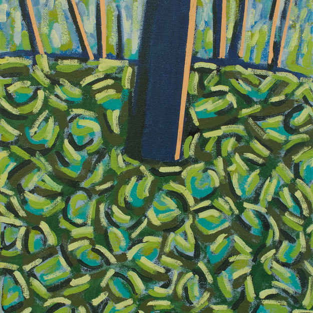 Blue Trees No. 2