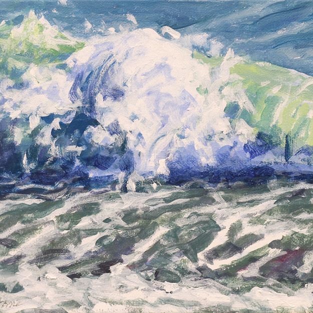 Surf/ Blue Series #11