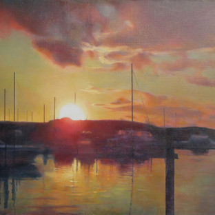 Sunset at the Harbor