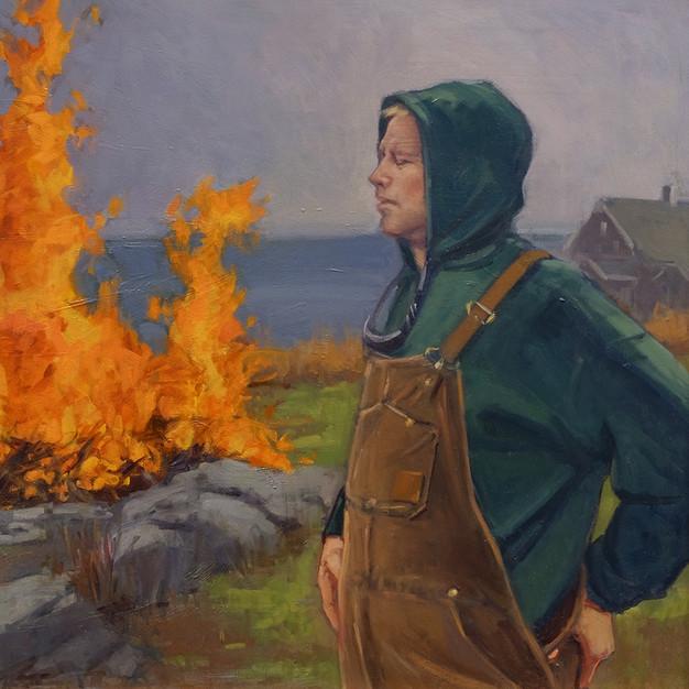 Alsion Hill, The Burn