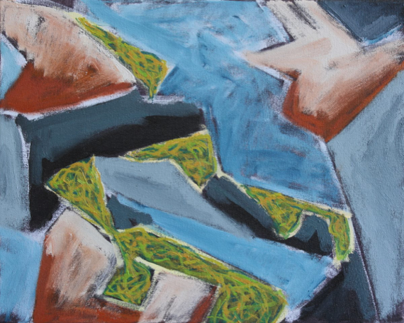 Island Geometry, Monhegan: Rockweed No.1