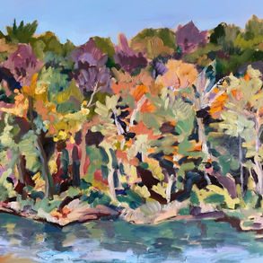 Androscoggin Series: October on the River