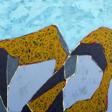 Island Geometry, Monhegan: Rockweed No. 11