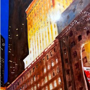NYC Abstracted No. 2