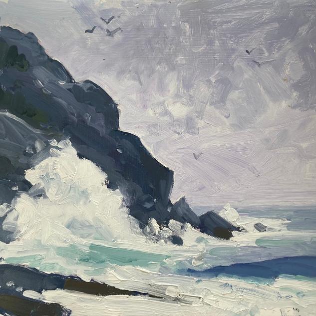 Surf at White Head