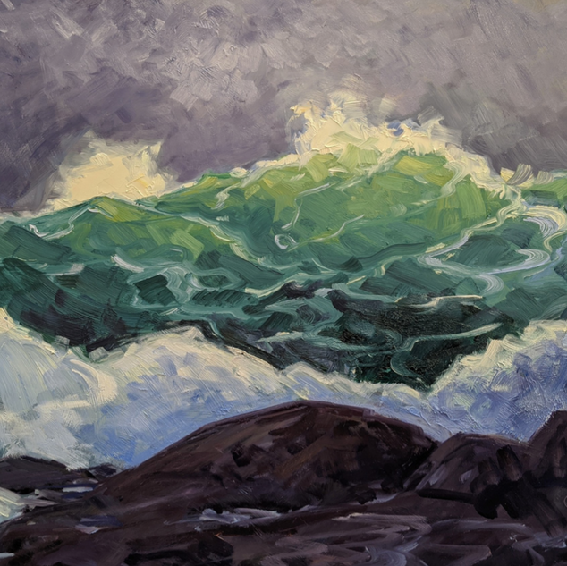 Crest of a Terrible Wave