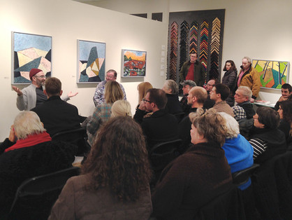 Artist Talk with Richard Keen and John Day