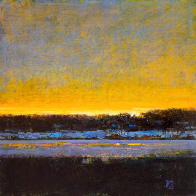 Sunset, Baxter Blvd
