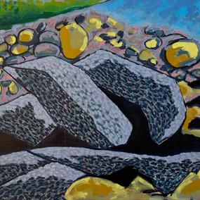 Pebble Beach Rocks No. 7: Monhegan