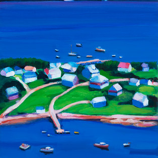 "South Harpswell Slice 26""x24"" $700."