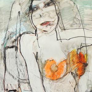Acrobat with Orange Breasts