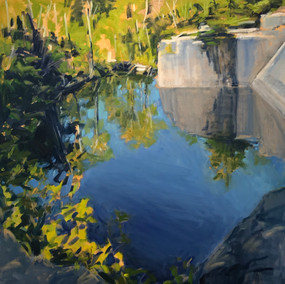 Quarry Reflections 26. Morning Light