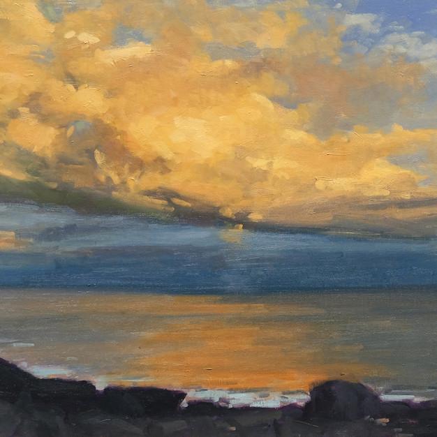 Alsion Hill, Gull Cove Sunset