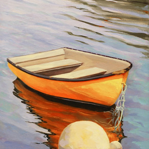 Lea Peterson, On the Mooring (1)