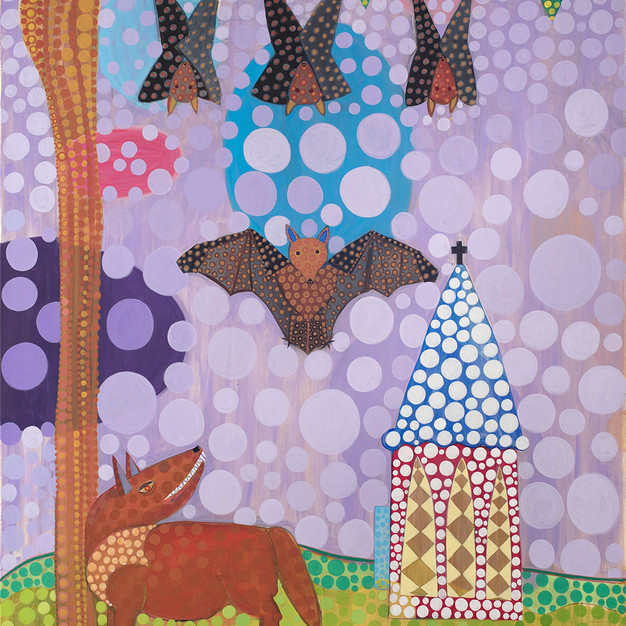 Bats Belfry and One Little Red Fox with Teeth