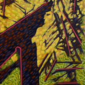 Purple Trees No. 8: Dresden
