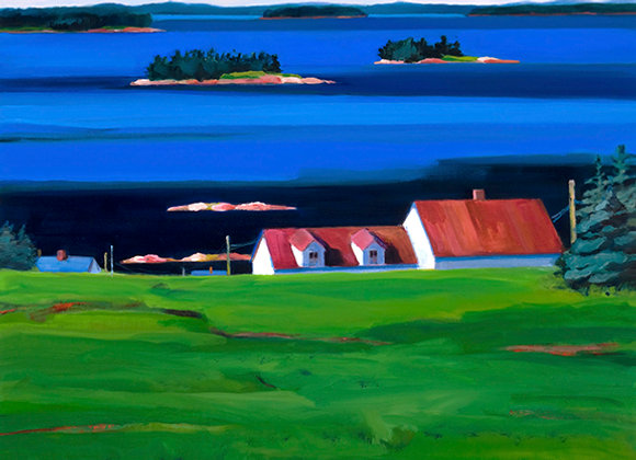 Red Roof, Deer Isle
