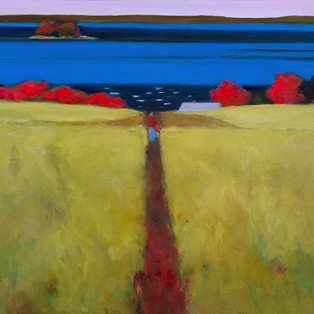 "Deer Isle Path 24""x30"" $900."