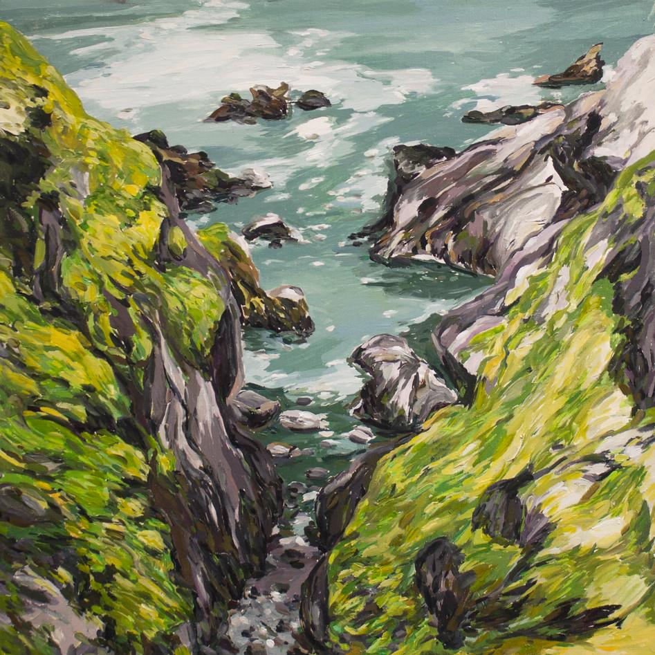 Cliffs off Dunemore Headland