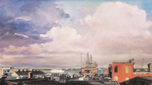 Rush Brown Interview:  Painting Casco Bay