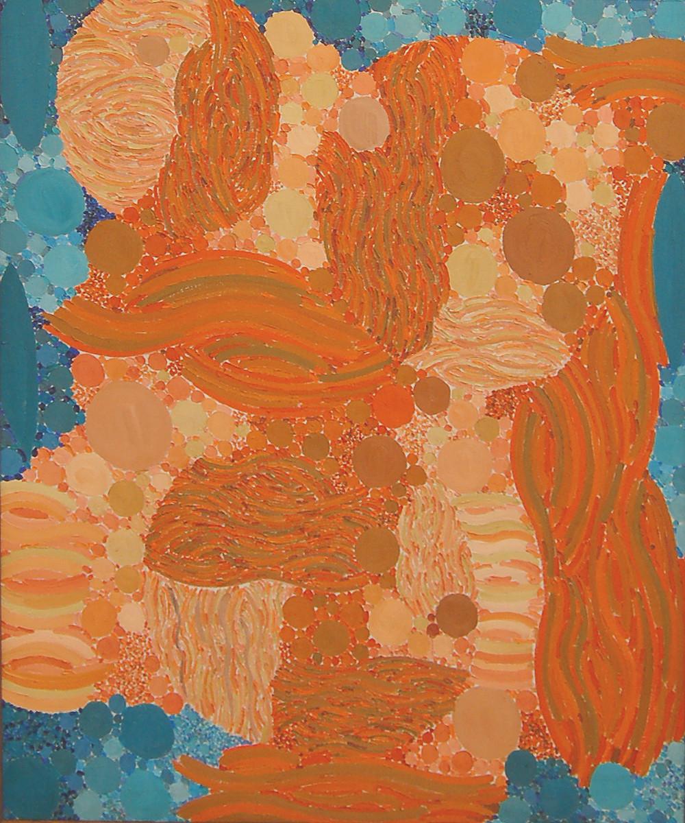 Orange Encapsulated, Lynne Drexler