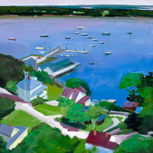 "South Freeport Summer 16""x16"" $550."