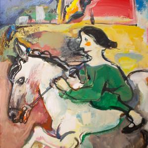 Saving Her Horse