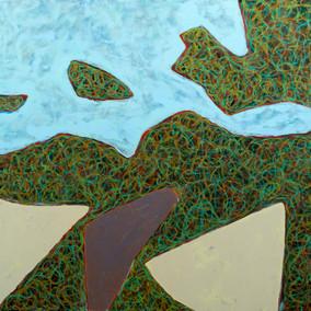 Island Geometry, Monhegan: Rockweed No. 7